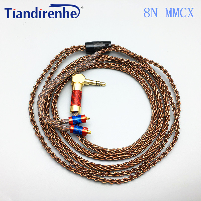 MMCX jack hifi Upgrade Earphone Cable Silver Plated Cable 3.5MM Plug For SHURE SE215 SE315  SE535 SE846 UE900S Headset<br>