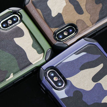 Buy Army Camo Camouflage Pattern case iPhone X 8 7 6 6S plus 5 5S back cover PC Hard + Soft TPU Armor protective phone cases for $4.44 in AliExpress store