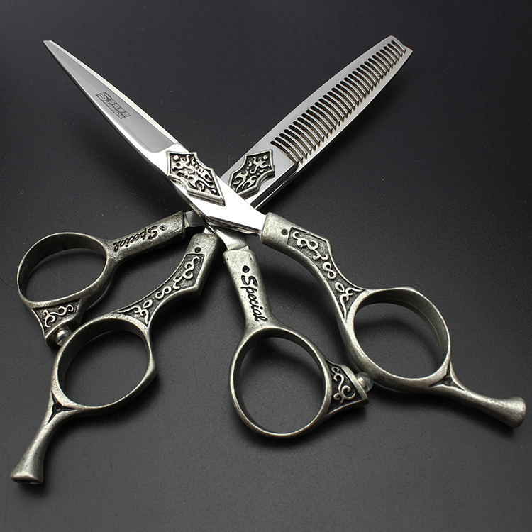 SHARONDS limited 440C special salon barber scissors scissors 6 High grade hair scissors 2 set<br><br>Aliexpress