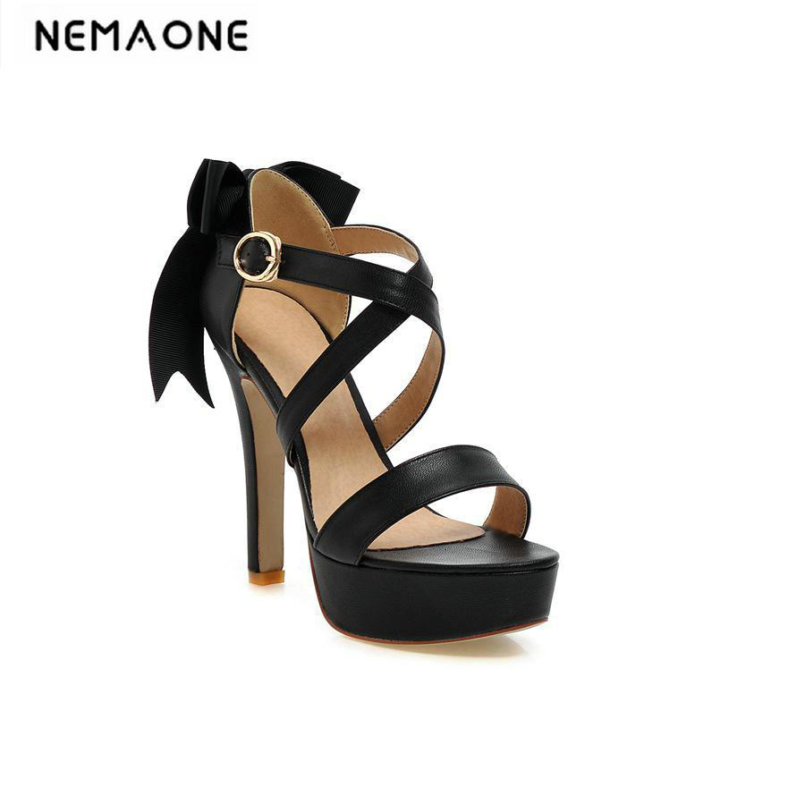 Women High Heels Sandals cross Stage Classic Dancing Heeled Sandals Sexy Stiletto Party Wedding Shoes large Size 34-42<br>