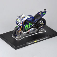 1/18 Scale Yamaha YZR-M1 46 World Championship 2015 Motorcycle Model Tpys For Children Gifts Collections