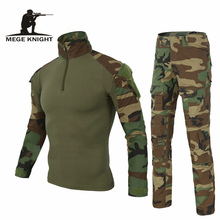 Army Clothing Tactical military uniform Airsoftsport Frog Camouflage Suit US Multicam Woodland BDU Set - MEGE KNIGHT Official Store store