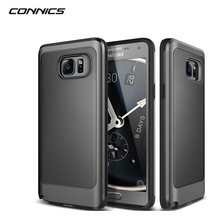 CONNICS Phone Case For Samsung Galaxy S8 S4 S5 S6 S7 / Edge Plus Covers Rubber Silicon Hard PC back cover For Samsung J5 J7 G530