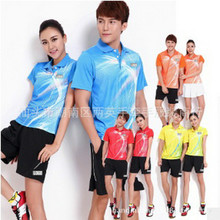 Table Tennis T Shirt 2017 New Summer Short Sleeves Table Tennis Clothes  Fitness Sport Jerseys Man Women Lovers Shirt China