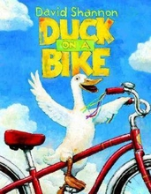 Illustrated David Shannon Classic picture book Duck on a Bike Caldecott Medal author read kids books original english books(China)