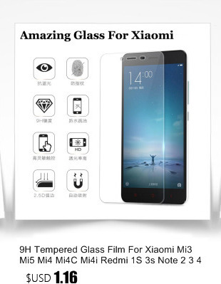 Tempered Glass For Xiaomi Mi5C Mi5S Plus Mi5 Redmi Note 4X 4 3 Mi Max Mi4 Mi4S 3 Pro 3S Screen Protector Film Accessories