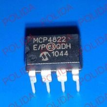 1PCS DAC IC MICROCHIP DIP-8 MCP4822-E/P MCP4822 The new quality is very good work 100% of the IC chip