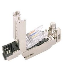 6GK1901-1BB10-2AE0 industrial ethernet RJ45 PLUG CONNECTOR WITH RUGGED METAL HOUSING AND FC CONNECTING METHOD