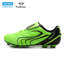TIEBAO Outdoor Sports Men Chaussure Futsal PVC Leather Football Boots Adults Sapato De Futebol Soccer Shoes Football Sneakers