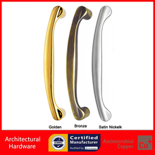 Entrance Door Handle Made With Solid Precision Cast Zinc Alloy Pull Handles PA-331-L275 For Frame / Wooden / Glass Door
