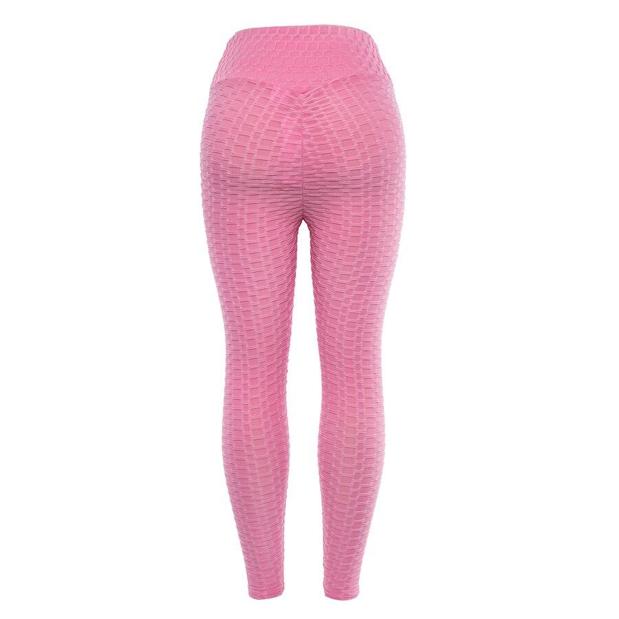 Women's High Waist Fitness Leggings, Fashion Push Up Spandex Pants, Workout Leggings 26