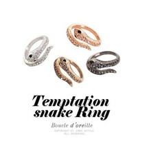 Hot Sale South Korea Jewelry Influx of People Natal Cute Mascot Korean Snake Ring Female LM-R023(China)