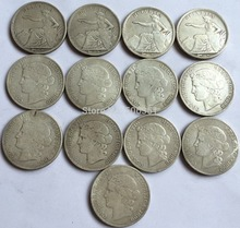 wholesale Switzerland 13 COINS Mixed date Free shipping