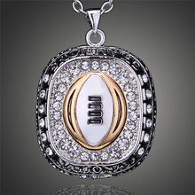 NCAA 2015 Ohio State Buckeyes Team Pendant Necklace Men Fashion American Football Sports Jewelry Souvenirs Wholesale D00330