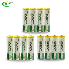 Original BTY AA Battery 3000 1.2V Ni-MH Rechargeable Battery for LED Flashlight/Toy/PDA - B 12PCS/Lot(China)