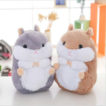 1pcs 38CM Newest Cute Doll Hamster 2 Color Plush Toys Soft Stuffed Doll Hamster Toy for Kids Toys Doll Plush