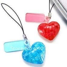 DIY TOY MINI 3D Crystal Puzzle (heart) Educational toy,Wholesale and Retail(China)