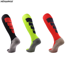 Winter Warm Men Ski Socks Soccer Football Basketball Bike Socks Cycling Running Long Sport Socks Man(China)