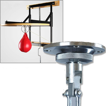 Professional Fitness Boxing Pear Speed Ball Swivel Boxing Punching Speedbag Hook Boxing Accessory Training Equipment Tools