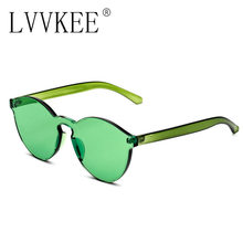 lvvkee Fashion Women Sunglasses Cat Eye Shades Luxury Brand Designer Eyewear oversized Candy glasses Deal with it and box case
