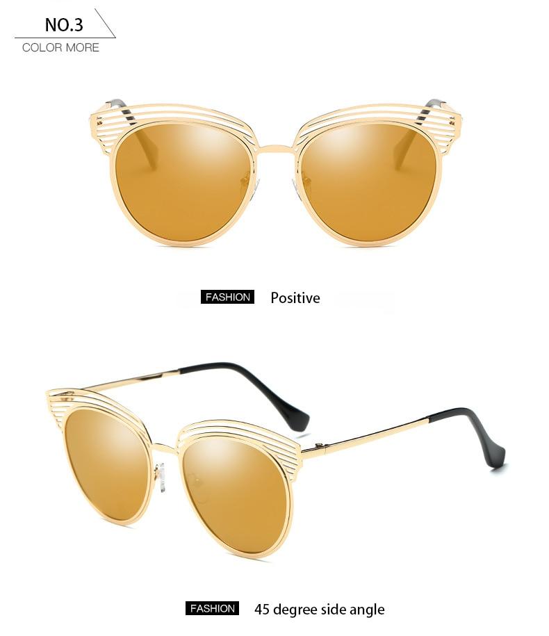 Club master New Fashion Cat Eye Sunglasses Women Brand Designer Vintage Sun Glasses Female Ladies Sunglass Oculos De Sol Eyewear