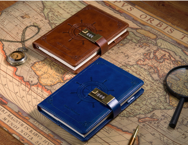 Handcraft Vintage Notebook Top Layer PU Leather Sailor/Sailing Style Diary Travel Notepad (DB-notebook-002) free shipping<br><br>Aliexpress
