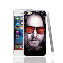 23557 Beard Big Lebowski cell phone Case Cover for iPhone 4 4S 5 5S 5C SE 6 6S Plus 6SPlus