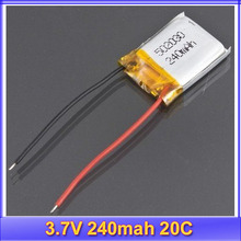 10pcs/lot S RC 3.7V 240mAh 20C Li-polymer Battery Syma 6020-1 S107 S026 3CH Helicopter