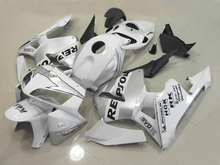 Motorocycle Fairing kit for HONDA CBR600RR 05 06 CBR 600 RR F5 2005 2006 CBR 600RR REPSOL  white black Fairings set+7gifts ZB36