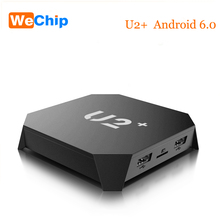 2017 New Android U2+ Smart Tv Box 1GB 8GB Quad-Core ARM Cortex-A53 up to 1.5GHz 2K 4K Android 6.0 Media Player Set Top Box