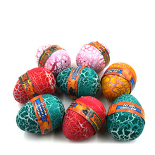 1pcs Big Size Colorful Dinosaur Eggs Hatching Growing Dinosaur Baubles Add Water Grow Funny Toys Children Kid Gift Magic Egg H