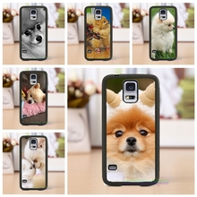 Pomeranian puppy dog 5 cell phone case cover for Samsung Galaxy s3 s4 s5 note 3 note 4 note 5 s6 s7 s6 edge s7 edge *lw321