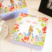 6 inch mousse packaging box cookie paper cake boxes hot sale food grade mooncake boxes(China)