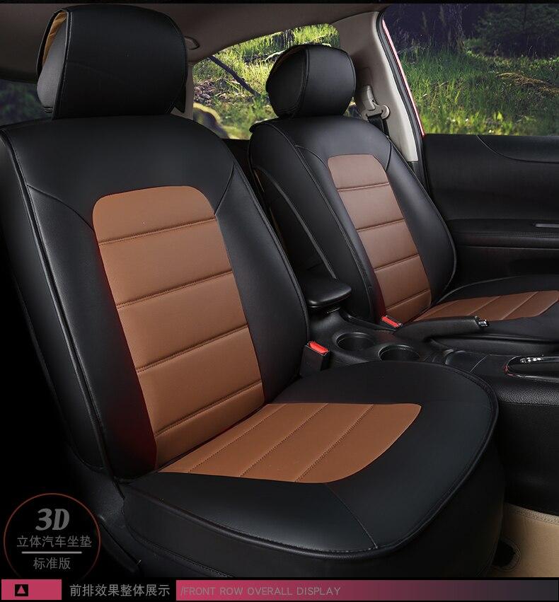 2 x fronti SKODA Fabia Vrs-Heavy Duty Nero Impermeabile Car Seat Covers