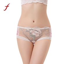 Buy Lady's Underwear Sheer Lace G String Thongs Women Underwear Sexy Lace Briefs Panties Thongs G-string Lingerie Underwear for $1.31 in AliExpress store