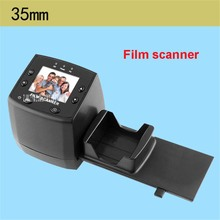 New Film Negatives Slides Scanner 1800dpi Precison TM Lens TV Out Digital Film Scanner 35mm film transfer to JPG film scanner(China)