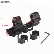 Mizugiwa 25.4mm 30mm Dual Ring Cantilever Heavy Duty Scope Mount Quick Release Picatinny Weaver Rail Hunting Rifle mount Caza