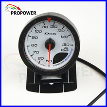 "2.5"" 60MM DF Advance CR Gauge Meter Oil Temp Temperature Gauge White Face With Temp Sensor/AUTO GAUGE(China)"