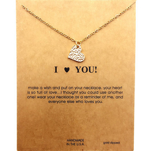 Love Heart Shape Necklace Clavicle Chain New Personality Fashion Small Pendant Necklace Women Na