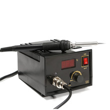 Best Price LCD Display 110V 220V 75W Inverter Frequency Change Electric 967 Soldering Station Iron 13.5x11x8cm(China)