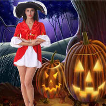 Halloween costume Pirates of the Caribbean clothing Woman pirate clothes