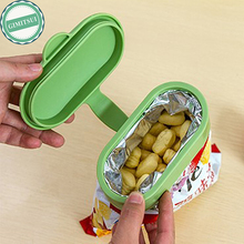 3Pcs/Lot Kitchen Tool Food Snacks Storage Bag Sealing Clip Lock Sealer Clamp Fresh Food Chips Saver Cover Cap Lid Accessories(China)