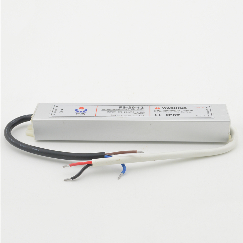 ac to dc 10W Output 12V 0.83A FS-10-12 90-250V input suply Strip Lights Waterproof led driver source switching power supply volt<br><br>Aliexpress