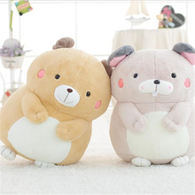 Kawaii Animal Groundhog Plush Cartoon Doll Girl Toy Stuffed Animals Soft Toys Dolls Jugetes Christmas Gifts Knuffel 50T0335(China)