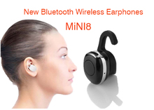 Mini Invisible Bluetooth Earphone,mini8 Portable Smallest Wireless Earbuds handfree for iphone Samsung mobile phone
