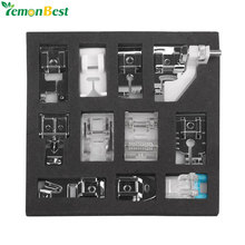 11pcs Mini Multifunction Sewing Machine Presser Foot Spare Parts Accessories Presser Foot Set For Sewing Machine Brother Singer(China)