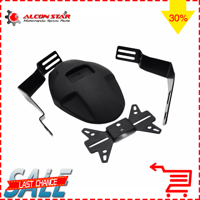 Alconstar- MSX125 Motorcycle  Rear Fender Bracket Wheel Fender Splash Guard For Honda Grom MSX125 SF Rear Mudguard Bracket<br>