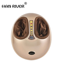 HANRIVER 220V Electric Antistress Foot Massager.cheap foot massage machine Infrared foot care.device with Heating & Therapy(China)