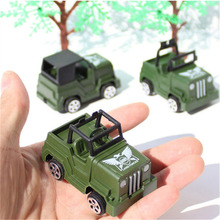 Boys Favorite!!!Cool 3Pcs/Lot Mini Military car toys model jeep / off-road vehicle Children Kids birthday gifts