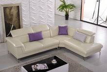 Chaise Sectional Sofa Chair Real European Style Living Room Sofas Furniture Suppliers Leather Modern Luxury Set Inflatable Kids(China)
